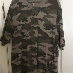 Open Trails Camouflage Mens Tee, XL